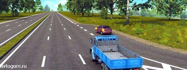 Водитель легкового автомобиля в данной ситуации
