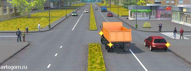 Кто из водителей, выполняющих поворот, должен уступить дорогу пешеходам