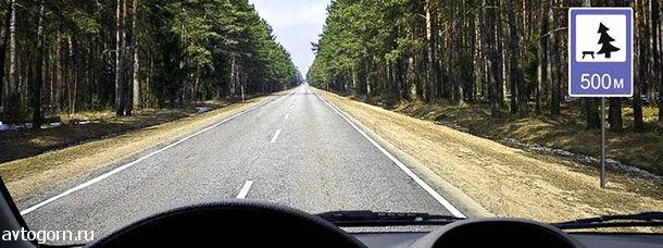В каком месте на данном участке дороги Вам разрешено поставить автомобиль на длительную стоянку