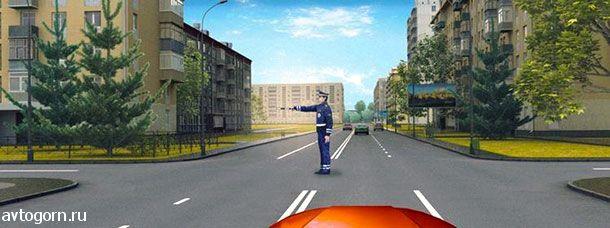 картинка вопроса В каком направлении Вам разрешено движение