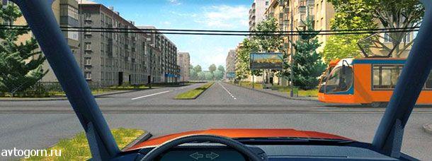 В каком случае Вы должны уступить дорогу трамваю