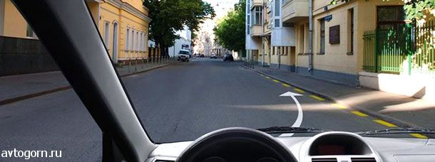 Разрешается ли Вам поставить автомобиль на стоянку в этом месте
