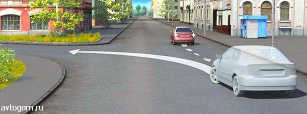 Водитель случайно проехал перекресток. Разрешено ли ему в этой ситуации использовать задний ход, чтобы затем продолжить движение налево