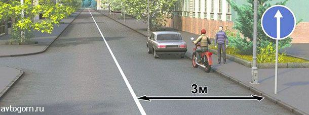 Разрешается ли водителям транспортных средств остановка в указанных местах