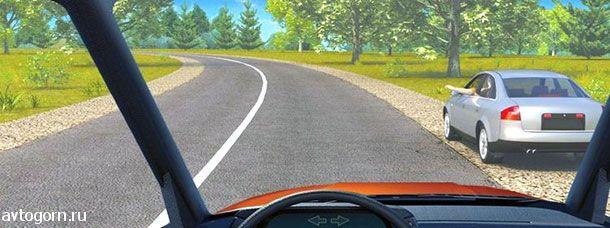 Такой сигнал рукой, подаваемый водителем легкового автомобиля, информирует Вас