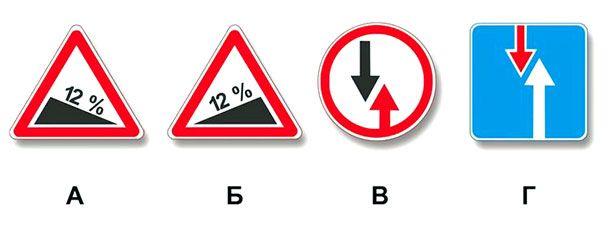При наличии какого знака водитель должен уступить дорогу, если встречный разъезд затруднен